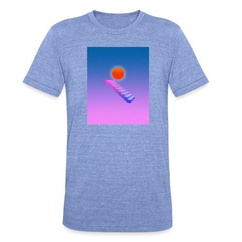 ESCALIER AU CIEL - T-shirt chiné Bella + Canvas Unisexe