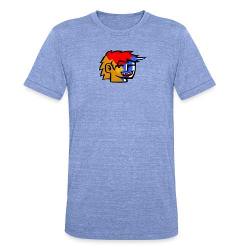 Frizo Evil T-shirt - Unisex tri-blend T-shirt fra Bella + Canvas