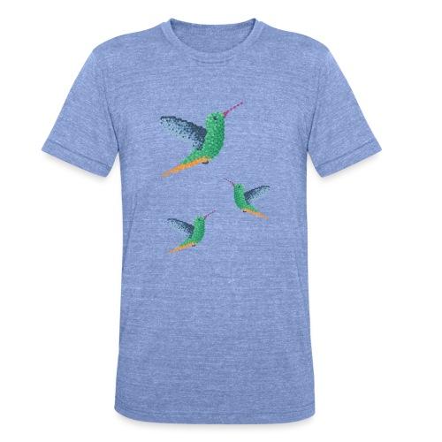 Hummingbird - Group - Unisex Tri-Blend T-Shirt by Bella & Canvas