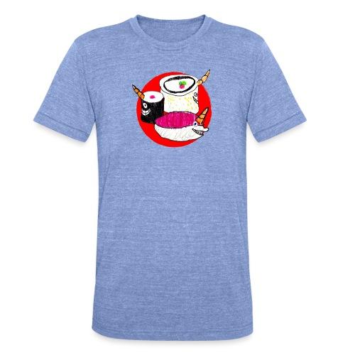 Unicorn Sushi - Unisex Tri-Blend T-Shirt by Bella & Canvas