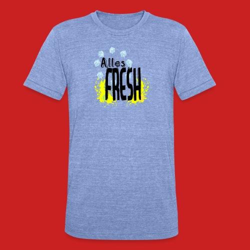 Alles Fresh / Frisch Sommer Eis - Unisex Tri-Blend T-Shirt von Bella + Canvas
