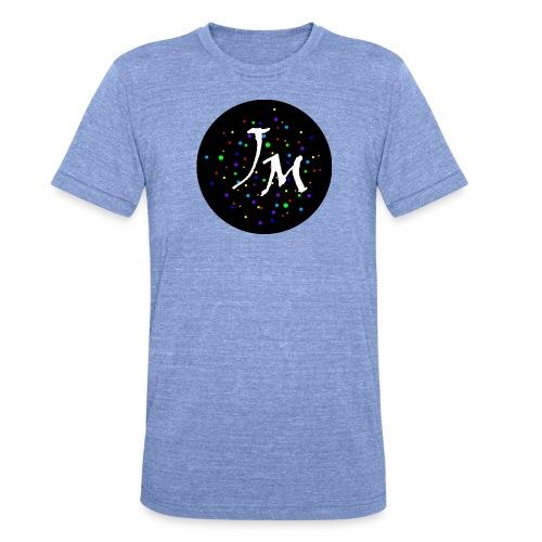 Logo - Unisex Tri-Blend T-Shirt von Bella + Canvas