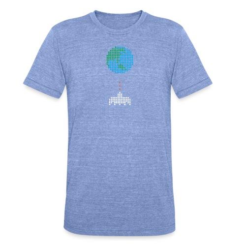 Earth Invaders - Unisex Tri-Blend T-Shirt von Bella + Canvas