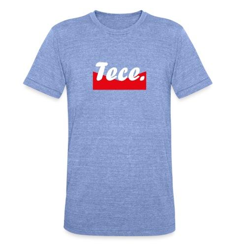 Tece red logo Sweater - Unisex Tri-Blend T-Shirt von Bella + Canvas