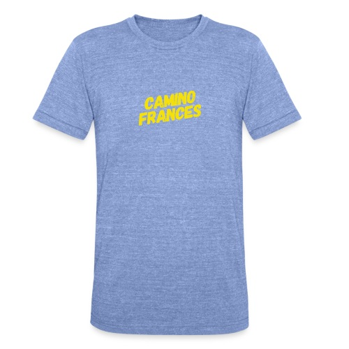 Camino Frances - Unisex Tri-Blend T-Shirt von Bella + Canvas