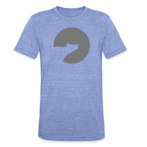 Howling Cow - Unisex Tri-Blend T-Shirt von Bella + Canvas