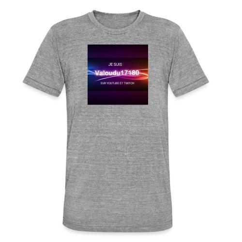Valoudu17180twitch - T-shirt chiné Bella + Canvas Unisexe