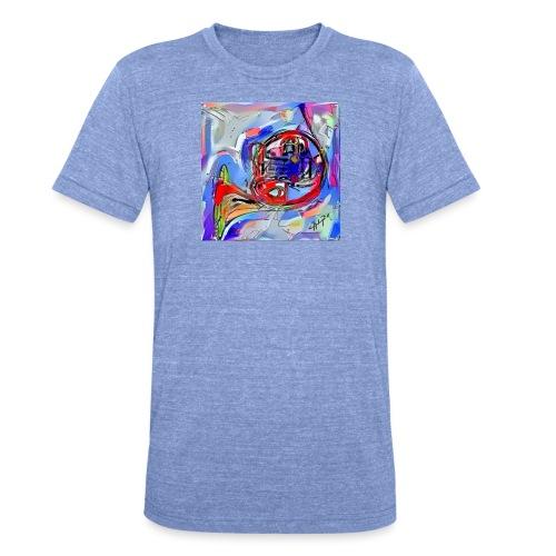 cornoarte1 - Unisex tri-blend T-shirt van Bella + Canvas