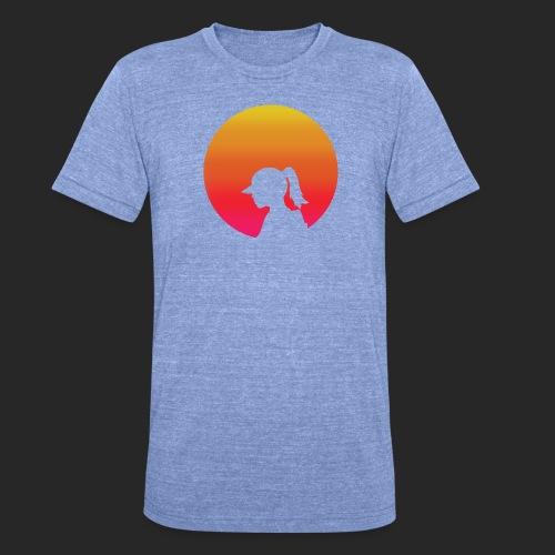Gradient Girl - Unisex Tri-Blend T-Shirt by Bella & Canvas