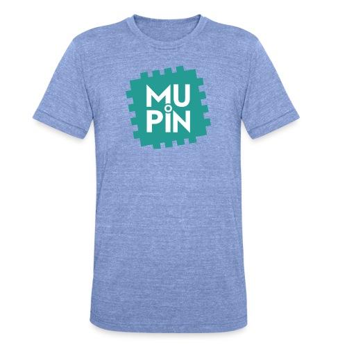 Logo Mupin quadrato - Maglietta unisex tri-blend di Bella + Canvas
