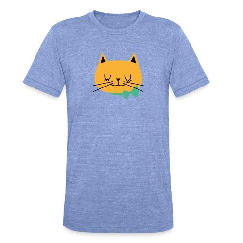 cat - T-shirt chiné Bella + Canvas Unisexe