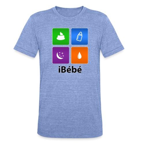 iBébé - T-shirt chiné Bella + Canvas Unisexe