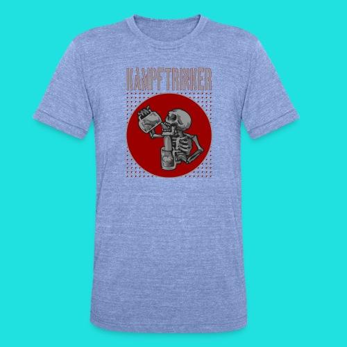 Kampftrinker - Unisex Tri-Blend T-Shirt von Bella + Canvas