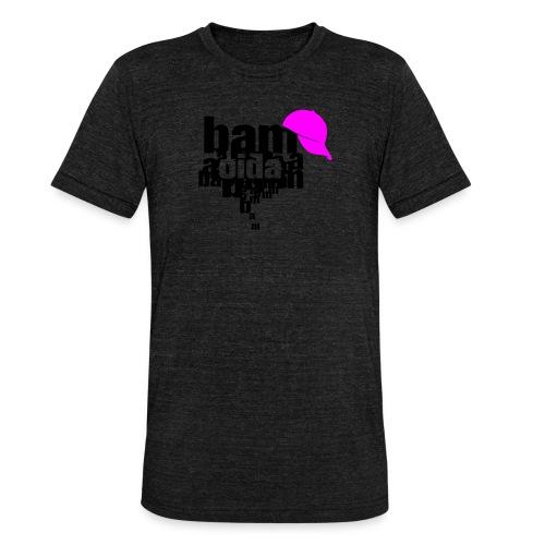 bam oida bam - Unisex Tri-Blend T-Shirt von Bella + Canvas
