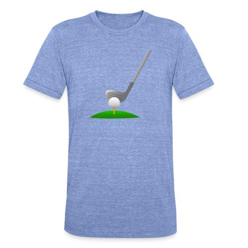 Golf Ball PNG - Camiseta Tri-Blend unisex de Bella + Canvas