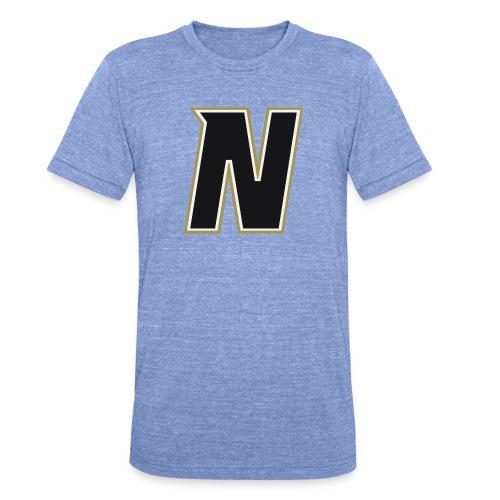 Nordic Steel Black N - Unisex Tri-Blend T-Shirt by Bella & Canvas
