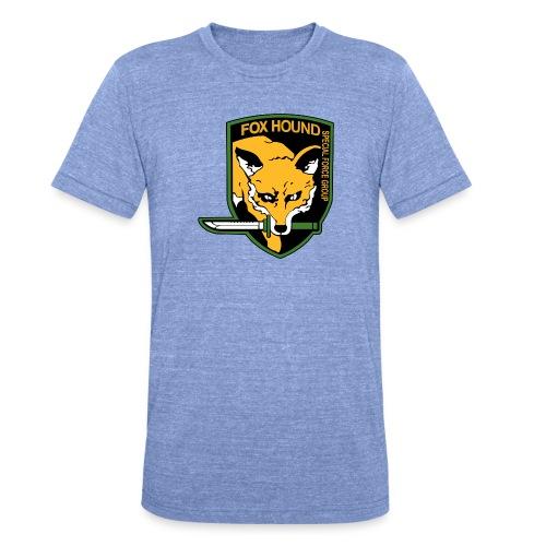 Fox Hound Special Forces - Bella + Canvasin unisex Tri-Blend t-paita.