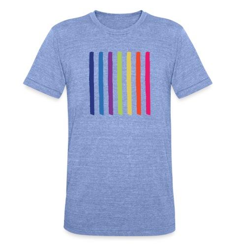 Linjer - Unisex tri-blend T-shirt fra Bella + Canvas