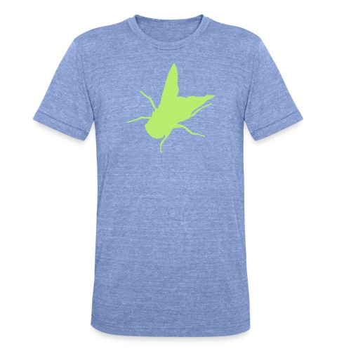 fliege - Unisex Tri-Blend T-Shirt von Bella + Canvas