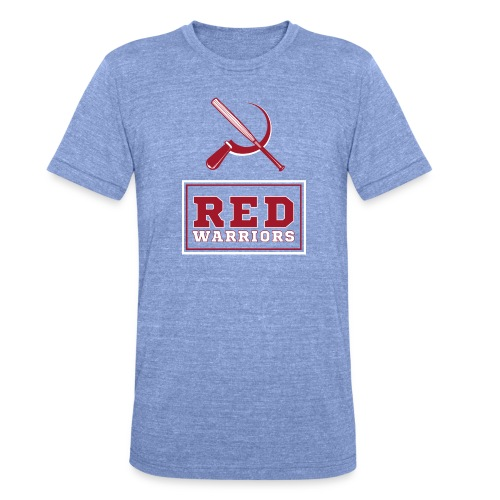 Red Warriors Logo2 - T-shirt chiné Bella + Canvas Unisexe