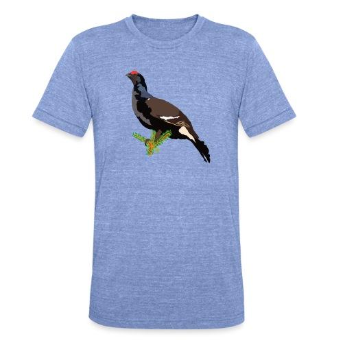 Birkhuhn - Unisex Tri-Blend T-Shirt von Bella + Canvas