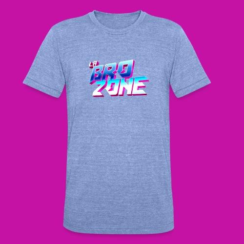 La BroZone ! - T-shirt chiné Bella + Canvas Unisexe