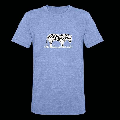 Zebra - Unisex Tri-Blend T-Shirt von Bella + Canvas