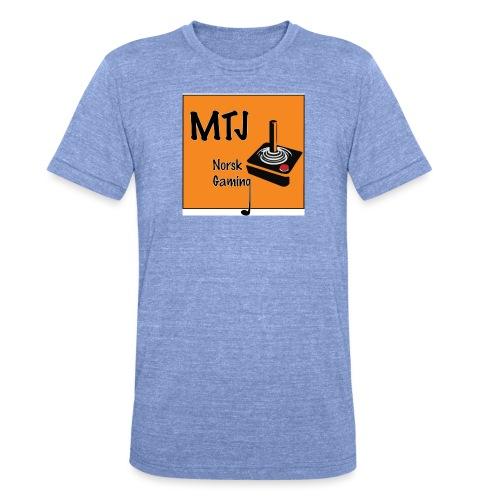 Mtj Logo - Unisex tri-blend T-skjorte fra Bella + Canvas