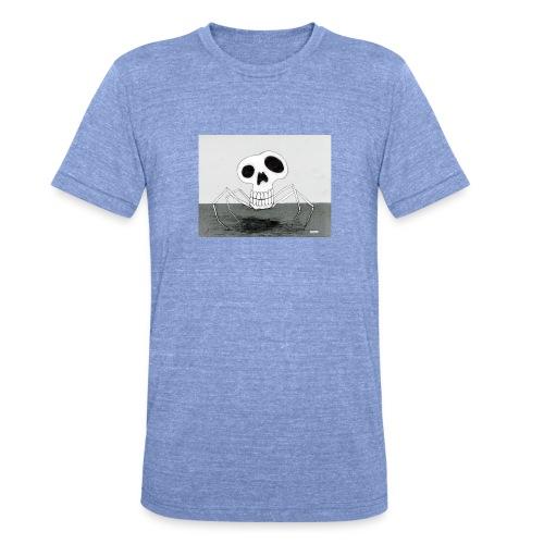 skull spider - Triblend-T-shirt unisex från Bella + Canvas