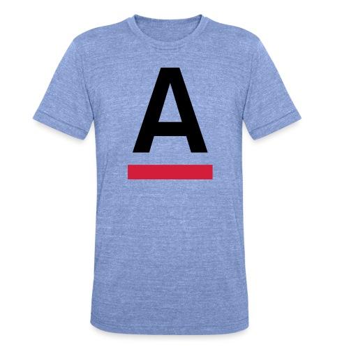 Alliansfritt Sverige A logo 2013 Färg - Triblend-T-shirt unisex från Bella + Canvas