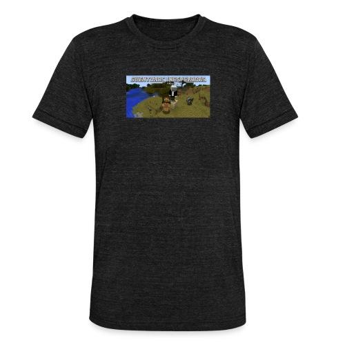 minecraft - Unisex Tri-Blend T-Shirt by Bella & Canvas