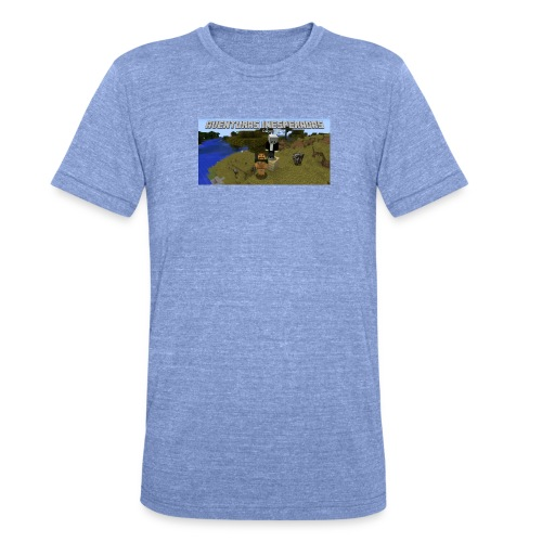 minecraft - Unisex Tri-Blend T-Shirt by Bella & Canvas