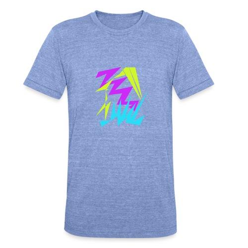 Farben Chaos - Unisex Tri-Blend T-Shirt von Bella + Canvas