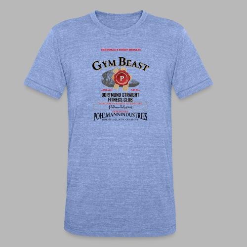 GYM BEAST - Unisex Tri-Blend T-Shirt von Bella + Canvas