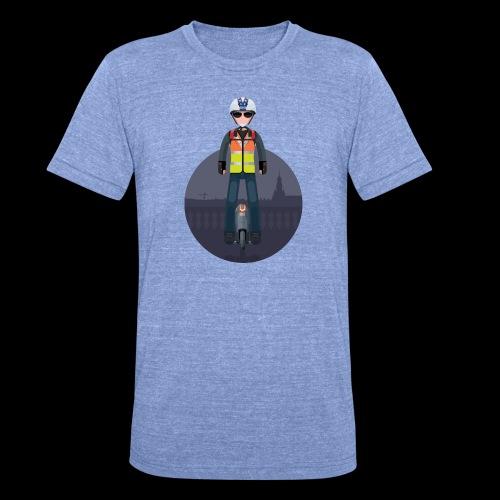 Wheels Fighters - T-shirt chiné Bella + Canvas Unisexe