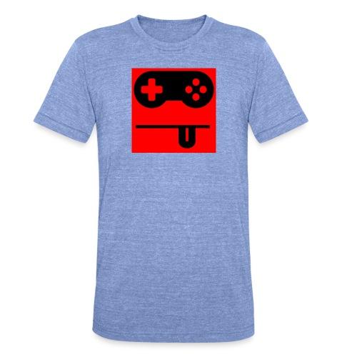 Logo Noobzocker - Unisex Tri-Blend T-Shirt von Bella + Canvas