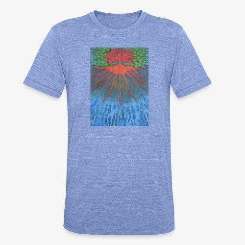 Drzewo Źycia - Koszulka Bella + Canvas triblend – typu unisex
