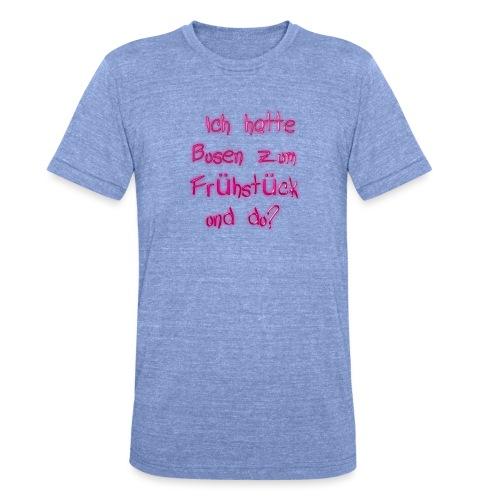 Frühstück - Unisex Tri-Blend T-Shirt von Bella + Canvas