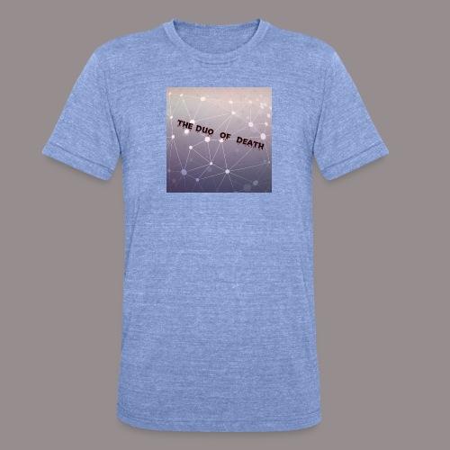 The duo of death logo - Unisex tri-blend T-shirt van Bella + Canvas