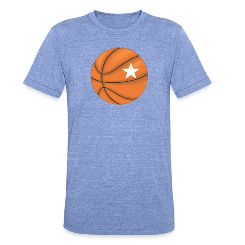 Basketball Star - Unisex tri-blend T-shirt van Bella + Canvas