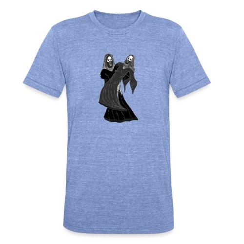 novios - Camiseta Tri-Blend unisex de Bella + Canvas