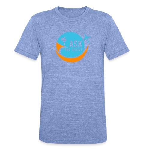 Ask the Native Original Logo - Unisex tri-blend T-shirt van Bella + Canvas