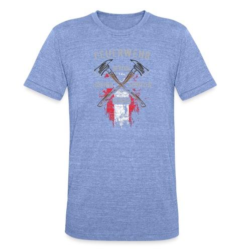 Retten Löschen Bergen Schützen - Unisex Tri-Blend T-Shirt von Bella + Canvas