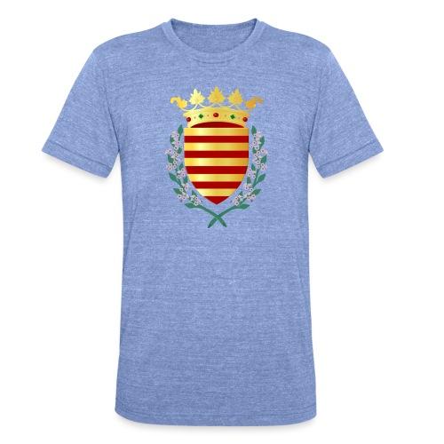 Wapenschild Borgloon - Unisex tri-blend T-shirt van Bella + Canvas