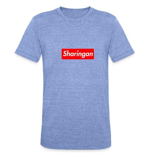 Sharingan tomoe - T-shirt chiné Bella + Canvas Unisexe