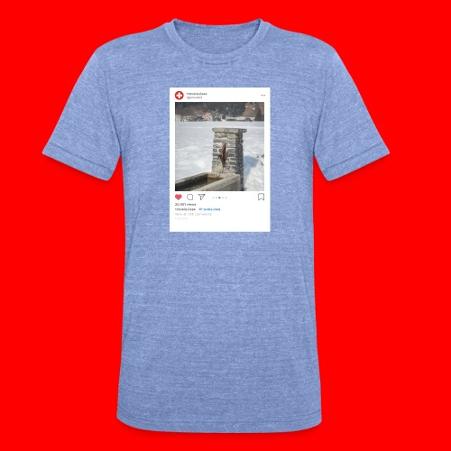 travelsuisse - Brunnen Trin - Unisex Tri-Blend T-Shirt von Bella + Canvas