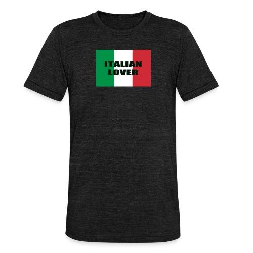 ITALIAN LOVER - Maglietta unisex tri-blend di Bella + Canvas