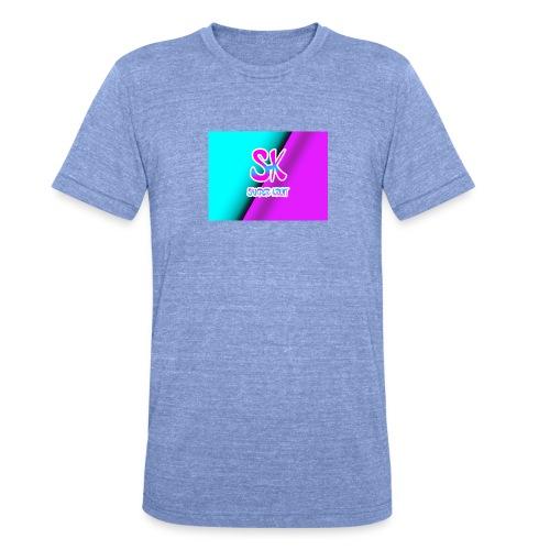 Sk Shirt - Unisex tri-blend T-shirt van Bella + Canvas