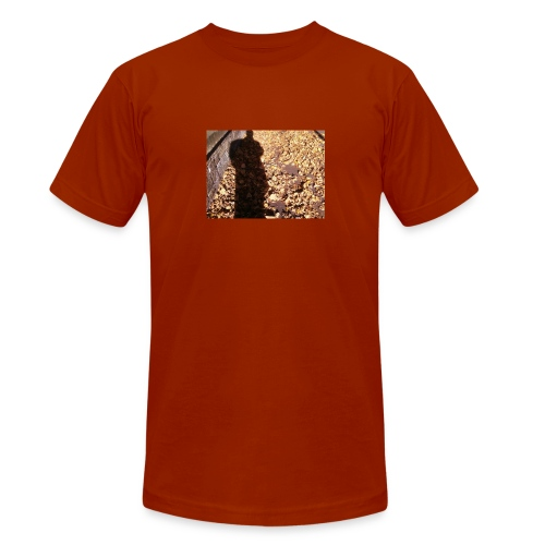 THE GREEN MAN IS MADE OF AUTUMN LEAVES - Unisex Tri-Blend T-Shirt by Bella + Canvas