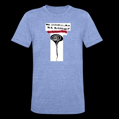 schwarzes lochohne signatur - Unisex Tri-Blend T-Shirt von Bella + Canvas